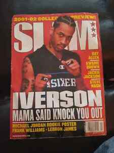 Slam Magazine With Allen Iverson On Cover