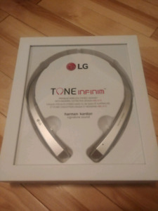 LG (Harman Kardon) Bluetooth Headphones HBS 910 - REDUCED