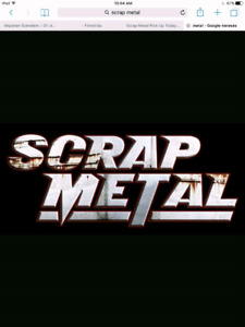 FREE SCRAP METAL PICK UP !!