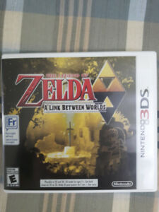 The Legend of Zelda : A Link Between Worlds - Nintendo 3DS