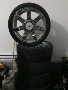 Winter tire with mag