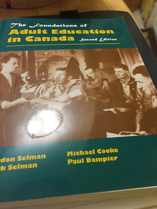 The Foundation of Adult Education in Canada (Second Edition)