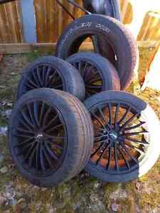 Tires and rims 215 45 17's