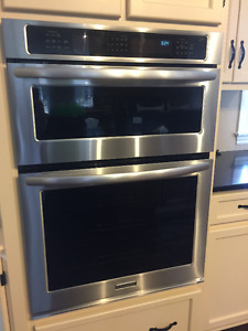 Oven with built-in Microwave