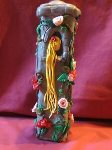 Decorative Polymer Repunzel in Tower
