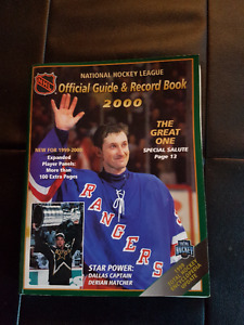 2000 Hockey Year Book and Record Book