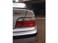 Bmw e36 clear rear lights for coupe/convertible