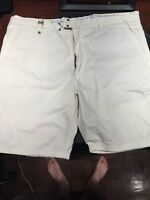 Diesel white shorts size 38 great condition