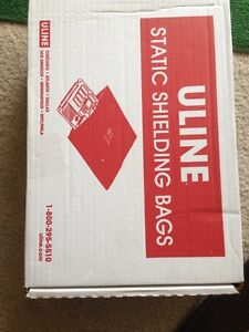 Uline static shielding bags London Ontario image 1
