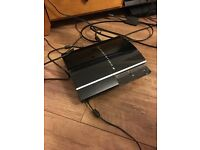 Ps3 160gb 1 controller scart lead and psu