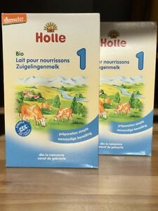 2x Holle organic baby formula- Best available on the market