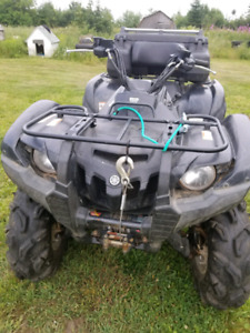 2008 Yamaha grizzly,700 special edition with t4s track kit