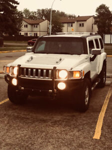 white hummer h3 for sale or trade in