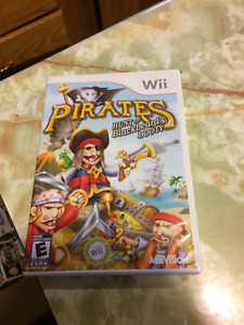 Pirates - Hunt for Blackbeard's Booty - Wii