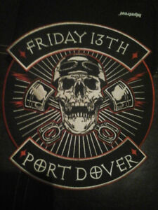 """Port Dover Back Patch : 9 """" x 9"""""""