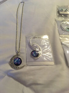 Nice sets.I have one two-piece moonset necklace and bracelet I a