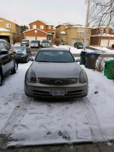 2004 G35 2wd