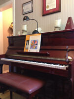 Piano lessons Falmouth area - Registered Instructor