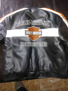 Boys harley davidson coat