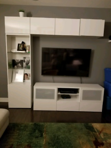 Tv storage combination from Ikea- Besta