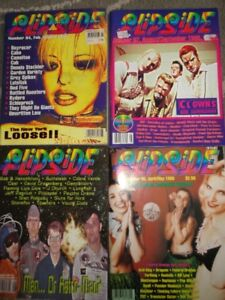 1987-1999 Flipside Magazines - Near Mint! $7.00 each