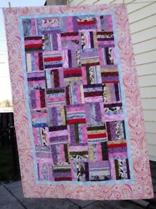 FLannel lap or single bed quilt