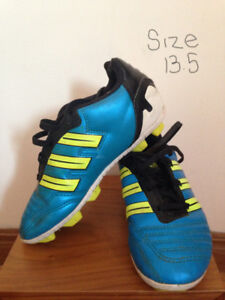 Soccer Cleats, Adidas Size 13, Size 2 and Size 4