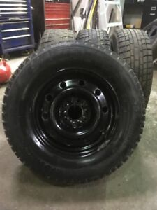 215x70x15 winter tires and rims