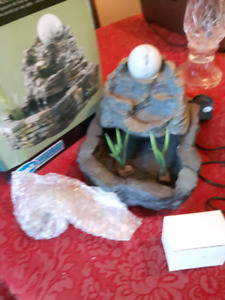 SPAresource Rolling Rock Relaxation Fountain