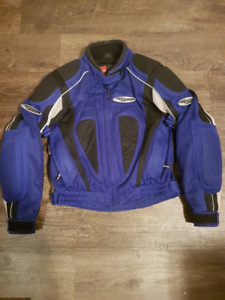 Nitro women's motorcycle jacket with armour