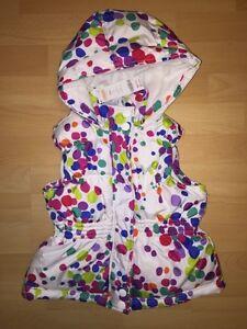 Gymboree Colour Happy Winter Vest size 5/6