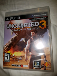 NEW SEALED PS3 UNCHARTED 3 DRAKE'S DECEPTION
