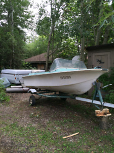 must cleanout my garage; have boat for sale