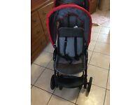 Mothercare twin pram