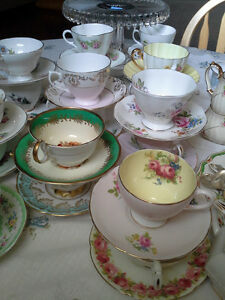 *Beautiful Vintage plates, tea cups and tableware rentals* Windsor Region Ontario image 5