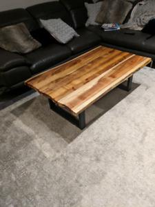 Brand new live Edge coffee table