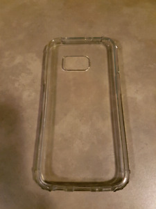 Transparent Spigen phone case for Samsung S7