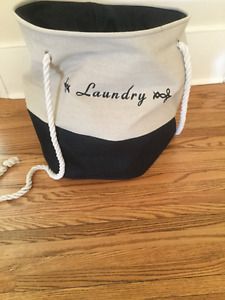 Cute laundry tote