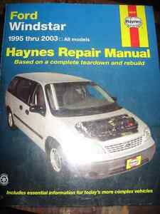 Ford Windstar 1995-2003 Haynes Repair Manual