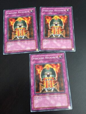 Volcanic Recharge - YUGIOH Volcanic Recharge - Common - FOTB-EN049 (1st Edition) x3 Cards