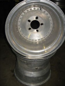 Pro Wheels, pair of 15X12 Prostreet aluminum wheels, sell/trade