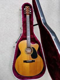 Aria The Sandpiper Electro Acoustic Guitar