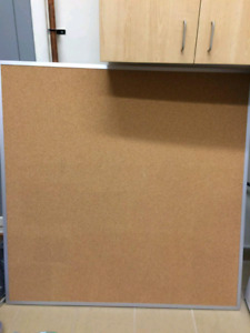 Large bulliten board in excellent condition