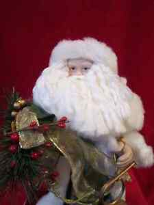 "Father Christmas - Santa Clause Figure 14.5"" Tall with Holiday D Regina Regina Area image 2"