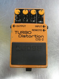 PEDALE GUITARE DISTORTION BOSS DS-2