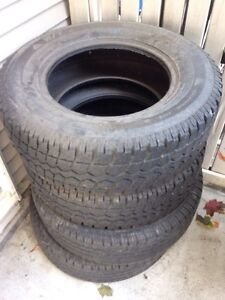 Set of 4 tires 235/70/R16