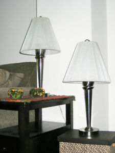 Decorative Lamps with Unique String Shades