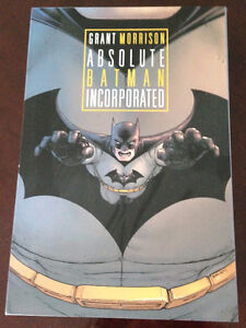 Absolute Batman Incorporated hardcover
