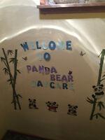 Panda Bear Daycare - Through a Licensed Agency