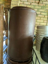 Plastic barrel 220 litre food grade